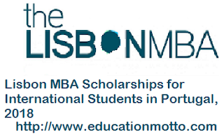 Lisbon MBA Scholarships 2018, Application Form, Description of Scholarship, Eligibility Criteria, Method of Applying, Application Deadline,