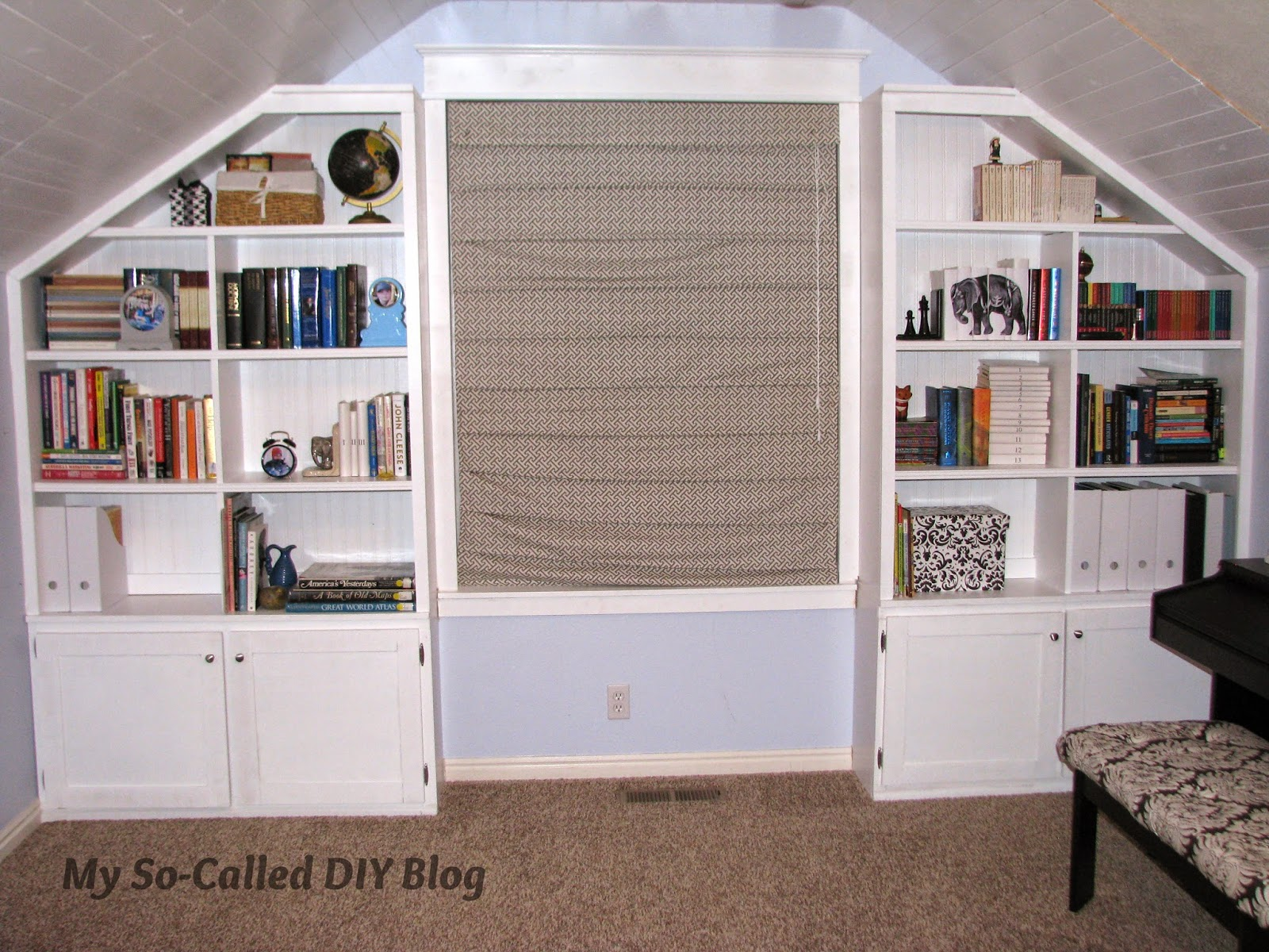 Tremendous My So Called Diy Blog Project Bonus Room Built In Shelves Cjindustries Chair Design For Home Cjindustriesco