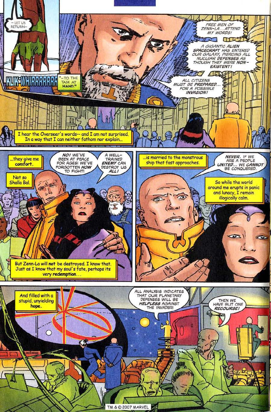 Read online Silver Surfer (1987) comic -  Issue #140 - 14