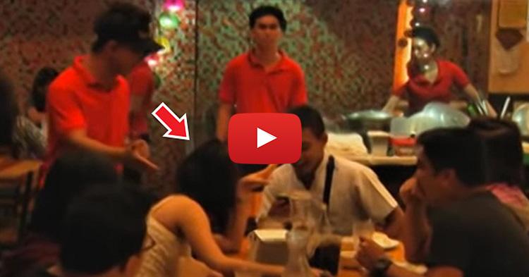 """""""Nilasing na Hipon"""" ang order nung customer, kaso babaeng lasing ang dumating"""