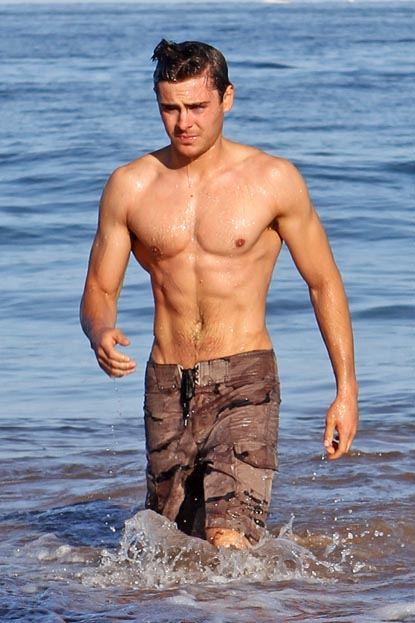 Zac efron beach body