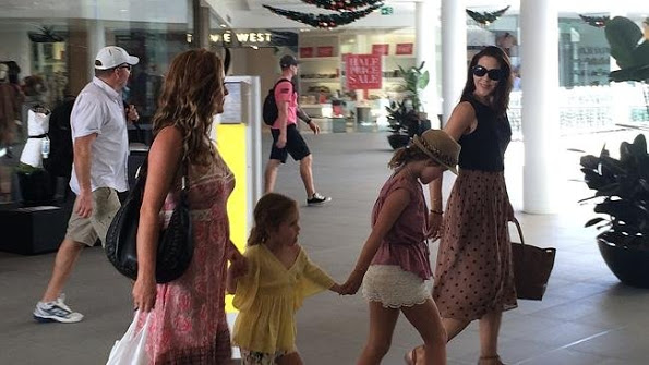 Princess Mary Was Spotted Shopping At Marina Mirage On The Gold Coast