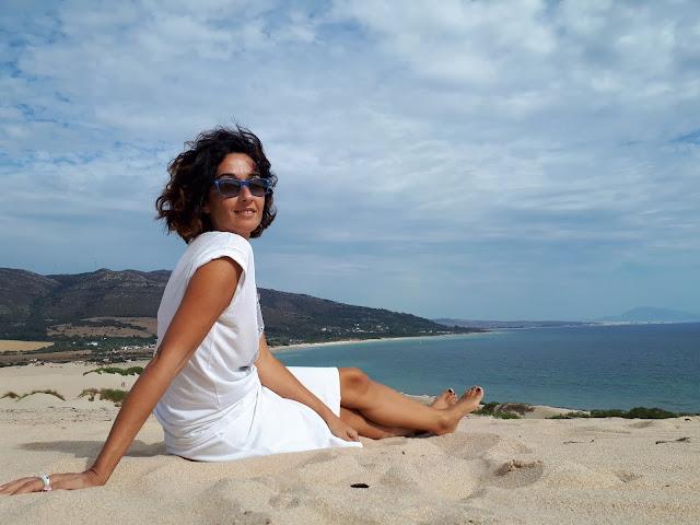 La Donna disfrutando de la vista desde Punta Paloma