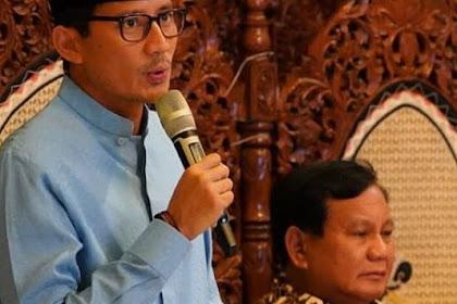 "Sandiaga Uno Penasaran Setan Gundul, ""yang Mencuit Saya Keluarin 500 Miliar untuk Prabowo Itu Kan?"""