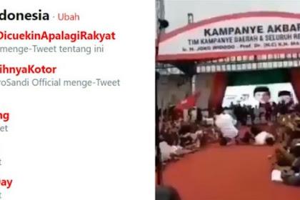 Gegara Istrinya Terjungkal Jokowi Kurang Reflek Menolong, Tagar #IstriAjaDicuekinApalagiRakyat Trending Topic
