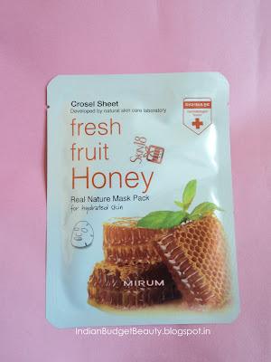 Mirum Fresh Fruit Honey Natural Mask Pack Featuring Skin18.com
