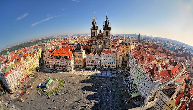 Primeiro dia em Praga