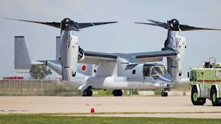 MV-22 Osprey Jepang