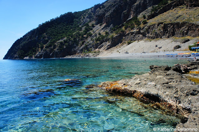 Agia Roumeli Libyan Sea Samaria Gorge Hike Crete Greece