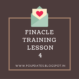 finacle training lesson 4 by poupdates