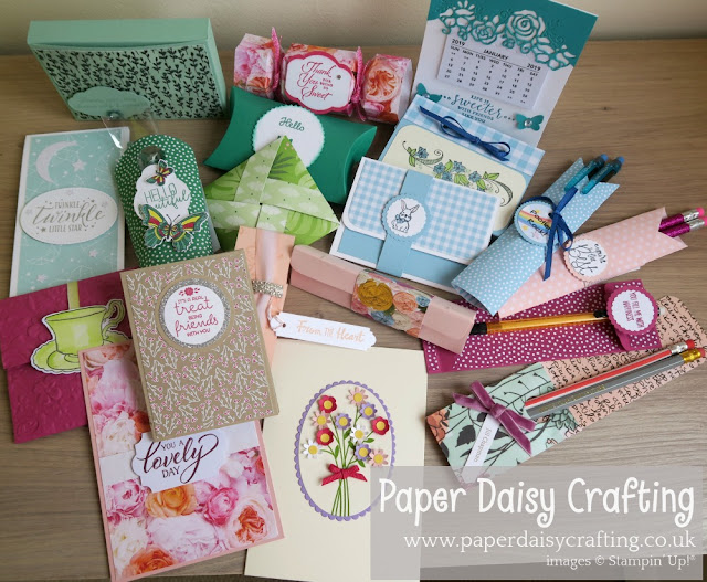 Pootlers Team Day swaps - Stampin' Up!
