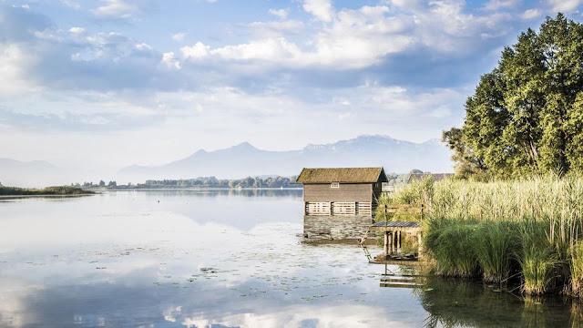 Der Radioreise Podcast ist am Chiemsee in Bayern unterwegs