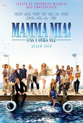 Mamma Mia Here We Go Again! 2018 [DVD] [NTSC] [R1] [Latino]