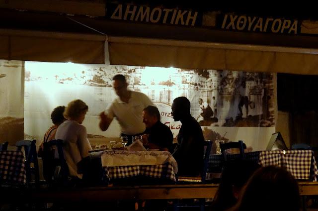 The Fish Market - Old Port Taverna in Skiathos Island, Greece