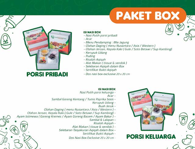Paket Nasi Box Aqiqah Klaten Al-Kautsar