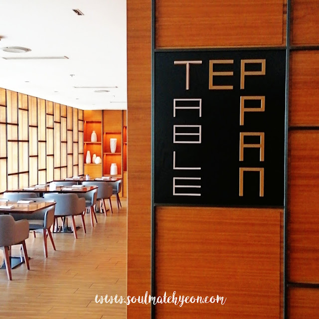 Teppan Table, Kota Kinabalu Marriott Hotel