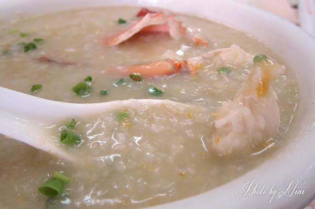 誠昌飯店水蟹粥
