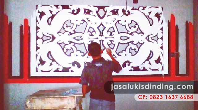 Jasa lukis dinding murah jakarta for Mural untuk cafe
