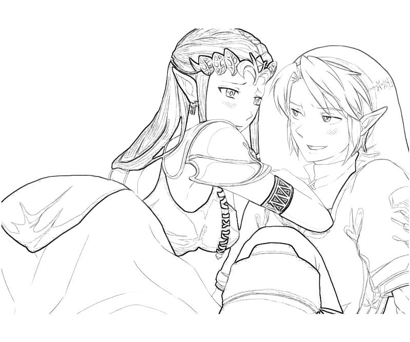 zelda twilight princess coloring pages - photo#29