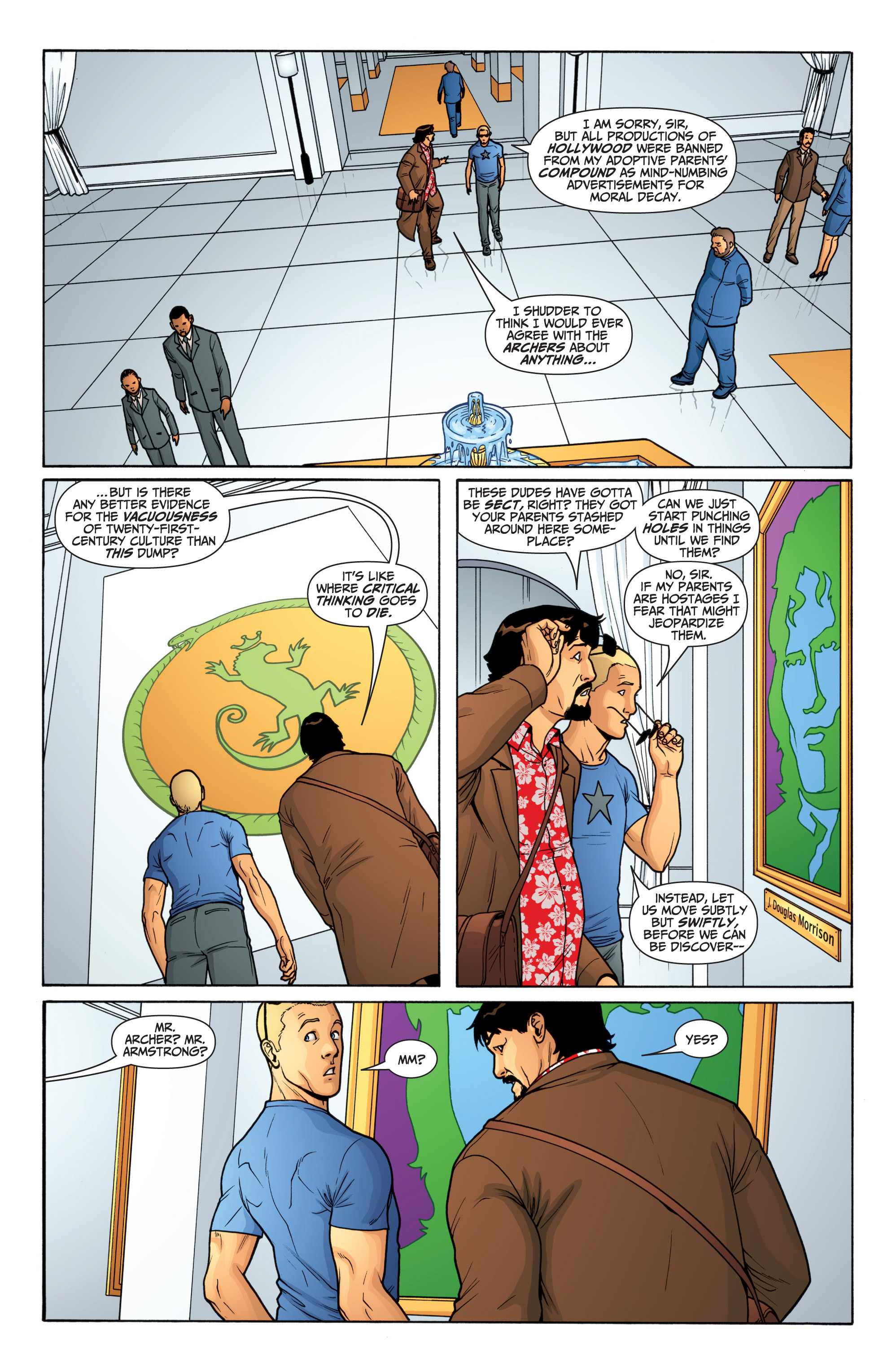 Read online Archer and Armstrong comic -  Issue #Archer and Armstrong _TPB 6 - 11