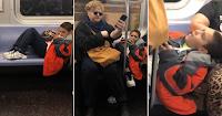Κακομαθημένο παιδί «ξάπλωσε» στο μετρό πιάνοντας 3 θέσεις κι ένας άντρας του έδωσε το καλύτερο μάθημα