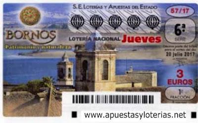 loteria nacional del jueves 20 de julio de 2017
