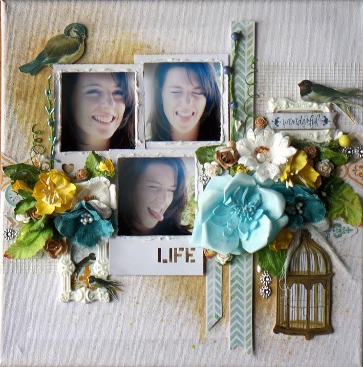 Australian Scrapbook Ideas #25 ~ Frame it Up ~ Life | Michelle Grant ...