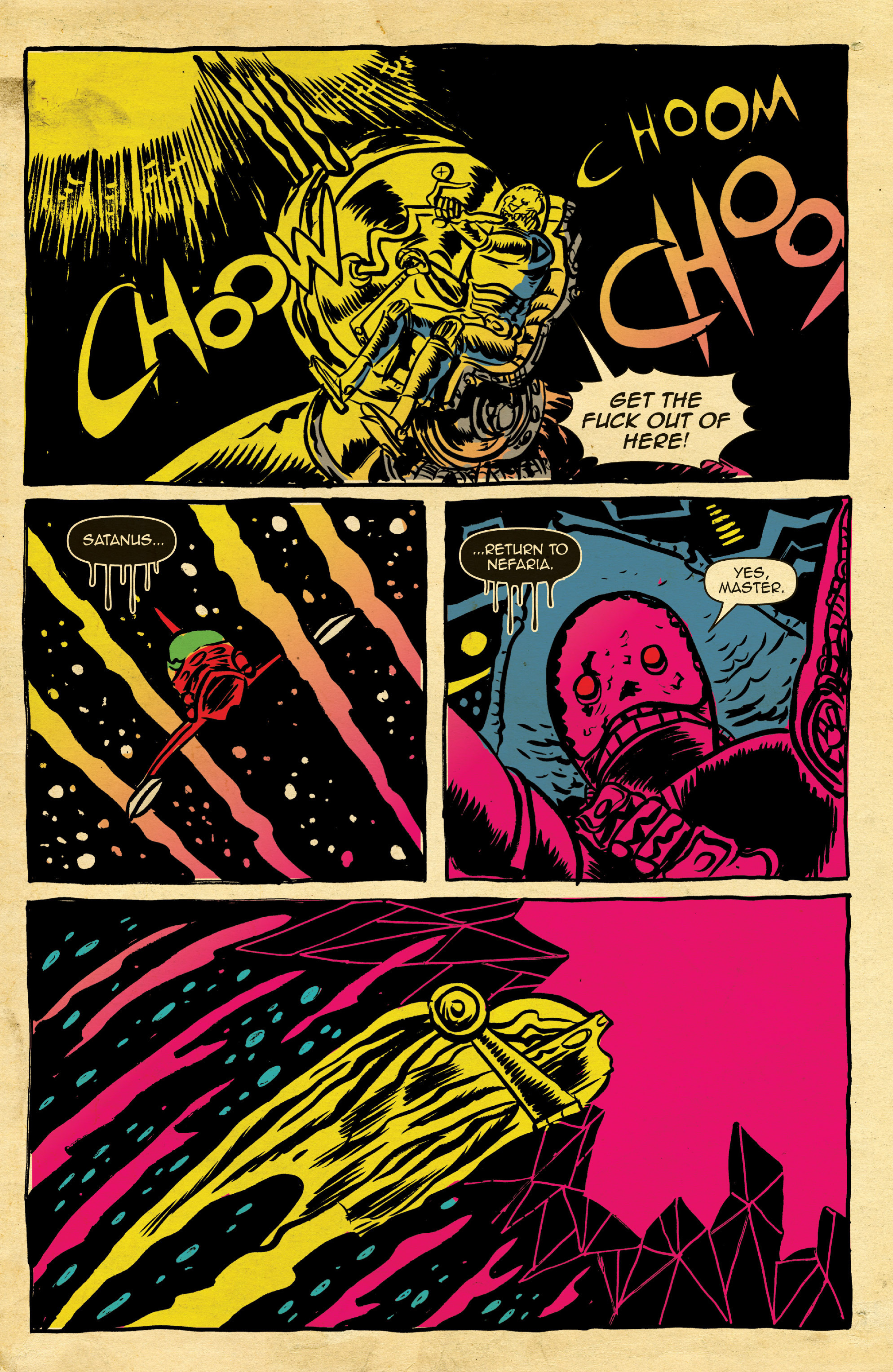 Read online Space Riders comic -  Issue #4 - 17