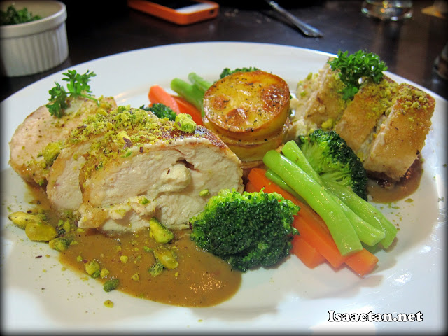 Stuffed seafood chicken – RM32