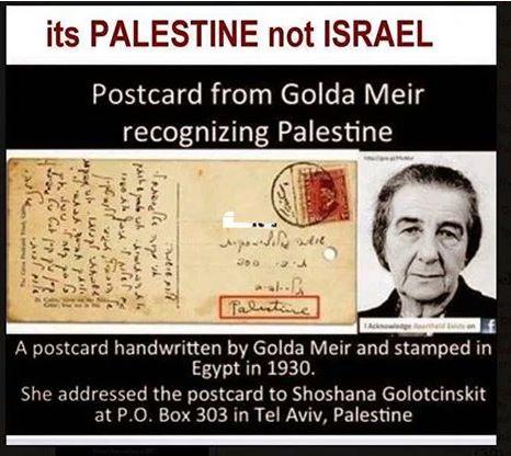 Resultado de imagen de Golda Meir era palestina