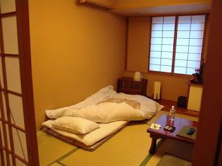 Kamar Tidur Minimalis Bernuansa Ala Jepang