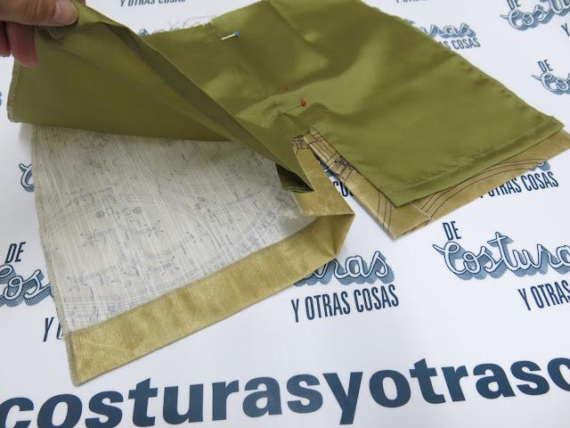 tutorial de costura como forrar una falda