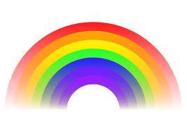 barn av regnbuen tekst