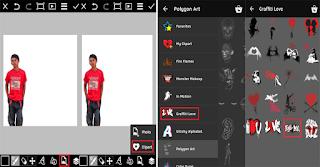 Tutorial Cara Edit Foto Buat Tulisan Efek Graffiti Keren di Android dengan PicsArt Lengkap