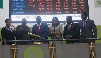 eTranzact's MD, Niyi Toluwalope, Beats NSE Closing Gong To Close Trading