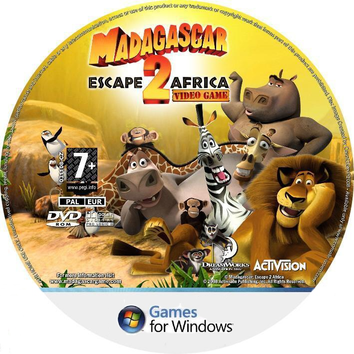 Mega Covers Gtba: Madagascar Escape 2 Africa