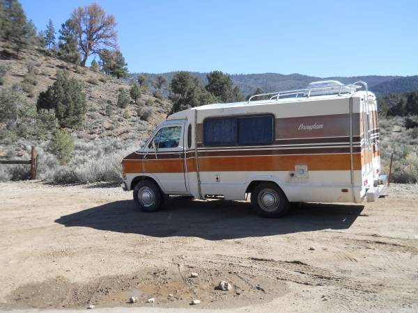 Used RVs 1979 Dodge Brougham Motorhome For Sale For Sale by