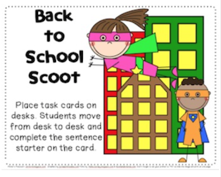 Back to School Scoot Freebie
