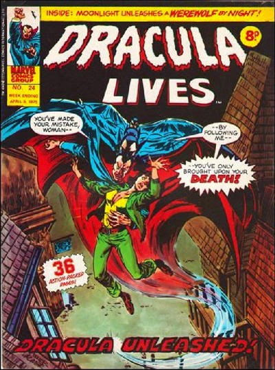 Marvel UK, Dracula Lives #24
