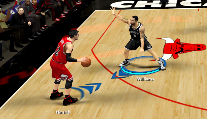 NBA 2K14 Ball Handler's Name Smaller Font Mod