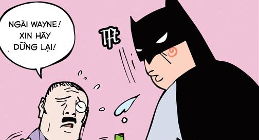 Ba cha con (bộ mới) phần 8: Khi Batman nổi giận