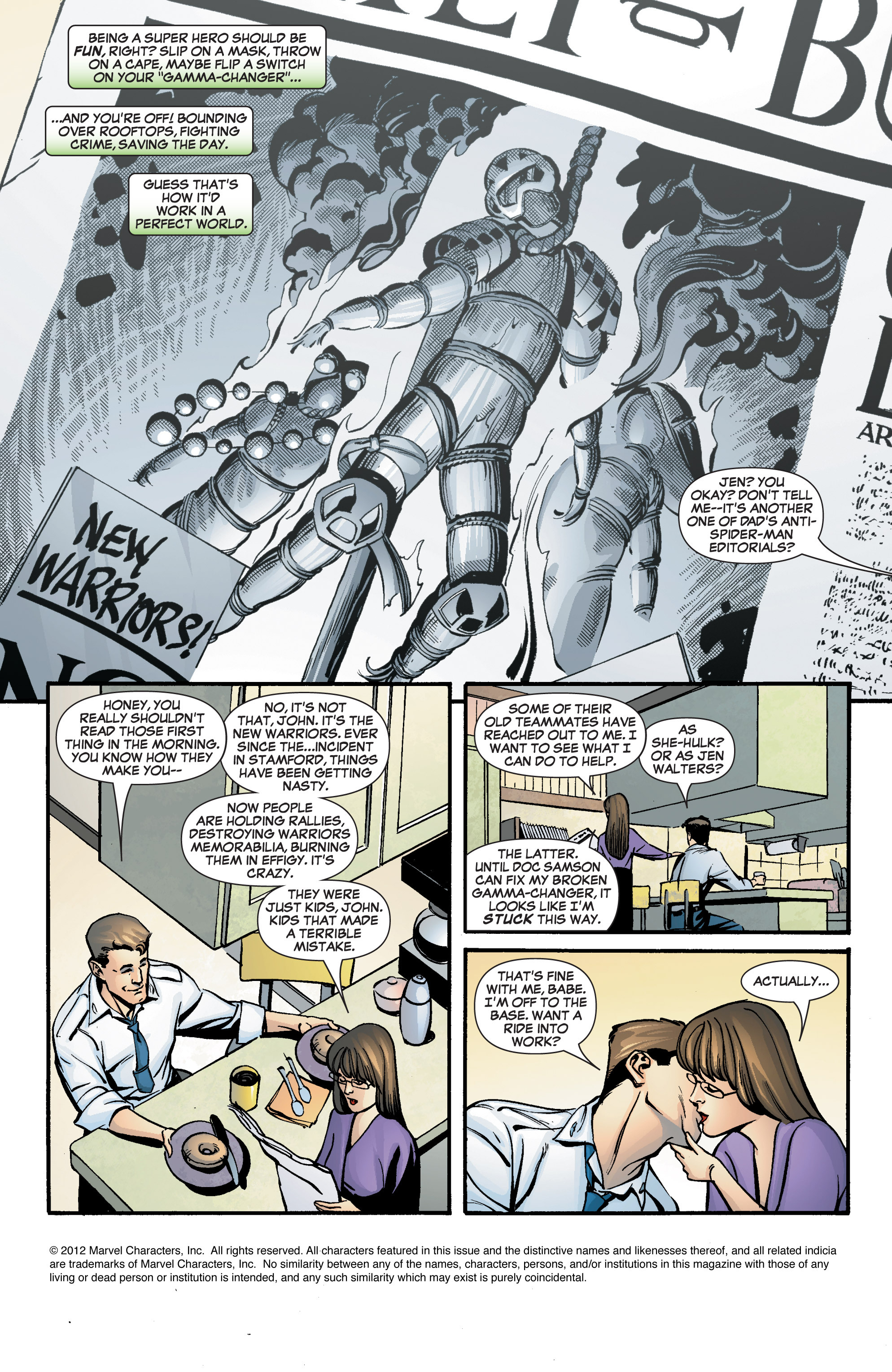 Read online She-Hulk (2005) comic -  Issue #8 - 3
