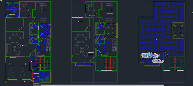 5-story multi family building Dwg
