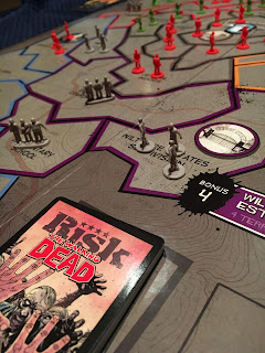 Risk The Walking Dead Board Game