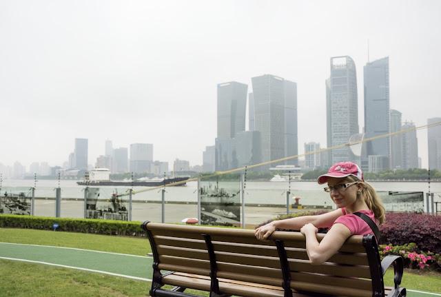 čína, china, šanghaj, shanghai, Bund, waitan, promenade, North Bund