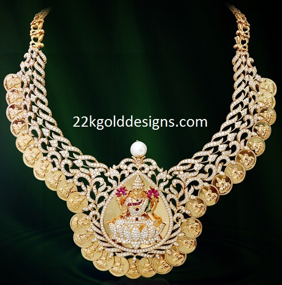 Lakshmi Kasu Diamond Necklace