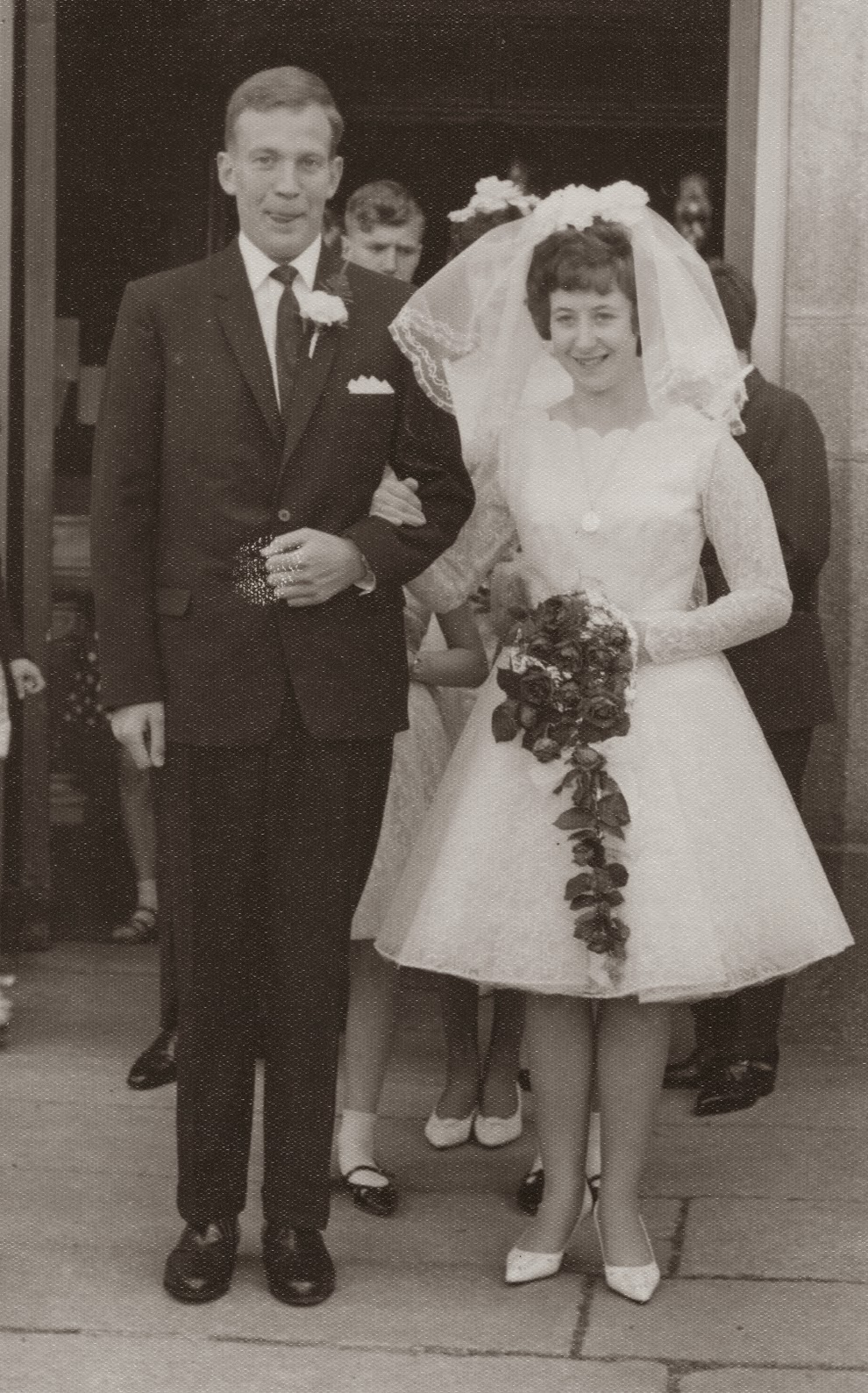 Adorable real vintage wedding photos from the 1960s - Retro vintage ...