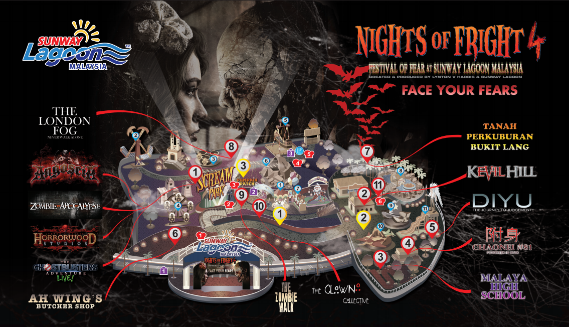 Nights Of Fright 4 Sunway Lagoon 2016