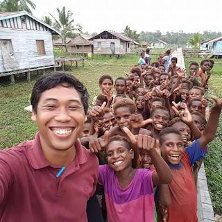 (Bukan) Surat Cinta dari Relawan Pedalaman Papua untuk Adek Zaadit Taqwa