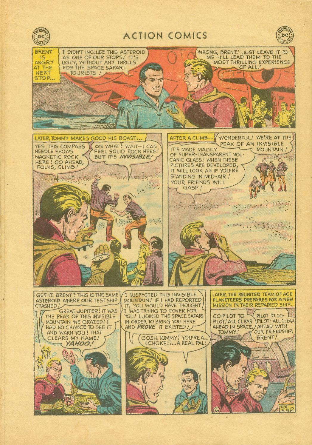 Read online Action Comics (1938) comic -  Issue #216 - 33